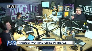 Mojo in the Morning: Hardest working cities in the U.S.