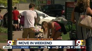 College move-in day: Tips to make the process easier - Video