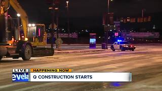 Traffic changes coming due to The Q construction - Video
