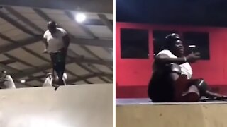 Attempted scooter trick results in hilarious epic fail