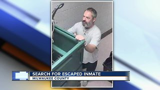 Search continues for escaped inmate