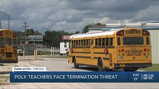 Polk school board member: More than 1,200 teachers may be fired if they call out Monday