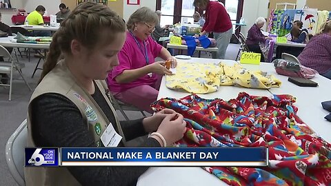 Project Linus makes blankets for kids in need on National Make a Blanket day