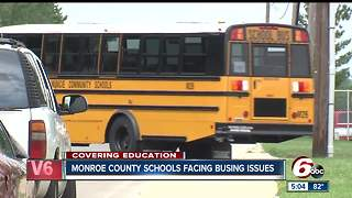 Monroe County Schools faces busing issues
