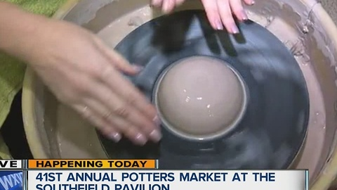 Annual Potters Market (8:30)