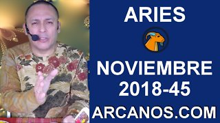 HOROSCOPO ARIES-Semana 2018-45-Del 4 al 10 de noviembre de 2018-ARCANOS.COM - Video