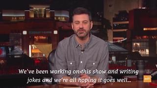 Oscar host Jimmy Kimmel says his wife's and writers' opinions matter most | Hot Topics - Video