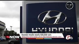 Hyundai recalls 600K vehicles to fix hood latches, warning lights - Video