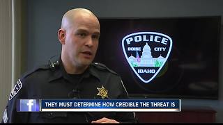 Boise Police explain how they respond to threats of violence against schools - Video