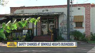 Businesses making changes in light of 4th murder in southeast Seminole Heights - Video