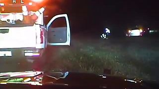 Dash cam video: Trooper revives woman along Alligator Alley - Video