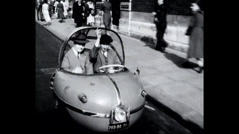 Cool Micro-Cars From The 50s: The Peardrop