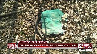 Possible human remains found near Lake Eufala. - Video