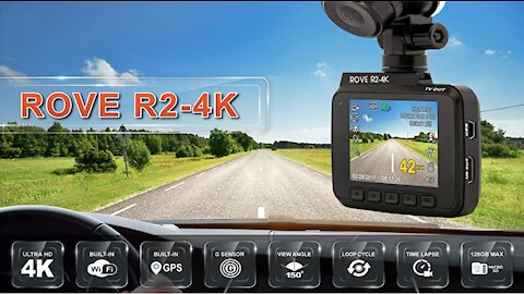 Rove R2 4K Dashcam Unboxing & Review