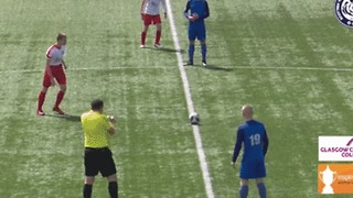 Scottish U14s Youth Cup Final Sees Player Score Directly From Kick-Off - Video