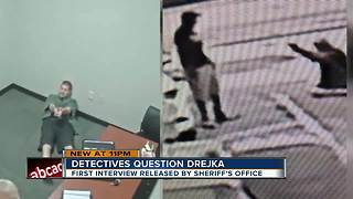 Michael Drejka reenacts shooting Markeis McGlockton during 6-hour interview hours after it happened