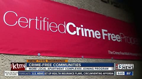 How would you like to live in a 'certified crime-free property'?