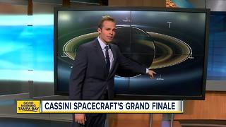 NASA's Cassini spacecraft at Saturn nears fiery finale - Video