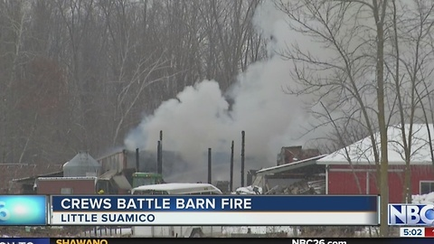 Suamico Barn Fire