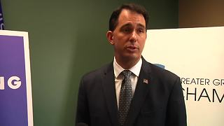 gov. walker on anthem protests - Video
