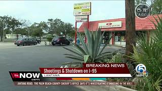 Locals react to shooting in Lantana - Video