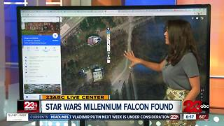 Star Wars Millennium Falcon Found