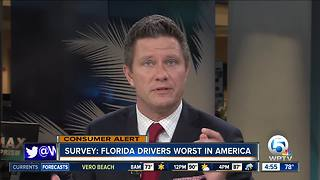 SmartAsset says Florida has the worst drivers in America - Video