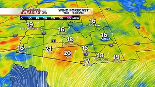 Comfortable temperatures for the weekend