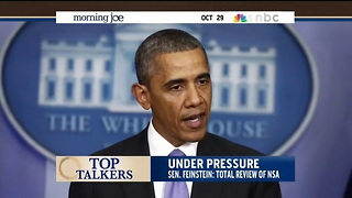 MSNBC: Is Obama Just An Onlooker In His Own White House? - Video