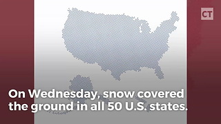 Snowfall Officially Recorded In All 50 States, Al Gore Must Be Hibernating