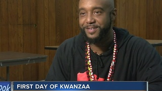 Milwaukee families celebrate first day of Kwanzaa - Video