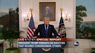 Trump's remarks on Virginia Shooting - Video