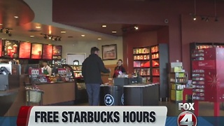 Free Starbucks drinks until January 2nd - Video