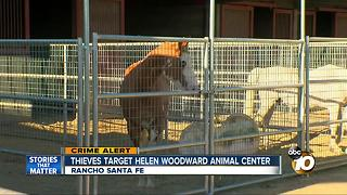 Thieves target Helen Woodward Animal Center