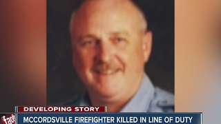 McCordsville firefighter killed in line of duty - Video