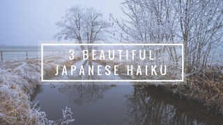 3 Beautiful Japanese Haiku