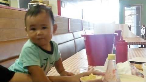 Dancing Baby Keeps Rocking When Music Stops