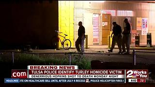 Police ID man shot, killed in Turley - Video