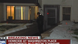 Body found inside Clinton Township apartment - Video