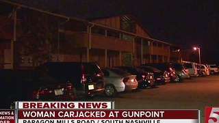 Police Investigate 2 Armed Carjackings - Video