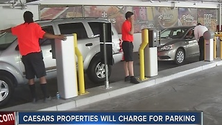 More reaction to announcement of paid parking on Las Vegas Strip - Video