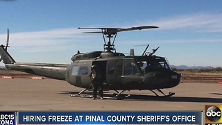 Hiring freeze announced in Pinal County