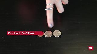 Bar Tricks : Changing placement of the coins while following these rules | Rare Life - Video