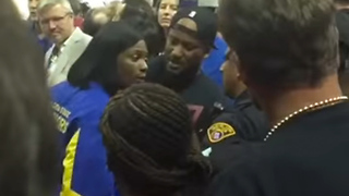 Draymond Green's Mom Gets into FIGHT with Cavs Fans - Video