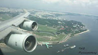 Cathay Pacific 747-400 | Takeoff | SIN-HKG | Business Class