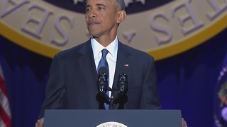 President Obama delivers farewell address - Video
