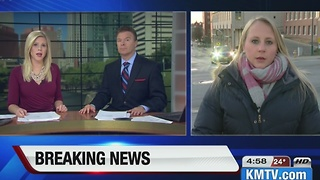 2 people injured by electric shock at Offutt AFB - Video