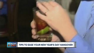 Tips to ease your New Year's Day hangover - Video