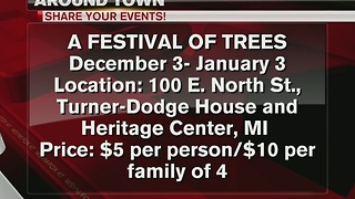 Around Town: 12/14/16: Festival of Trees - Video