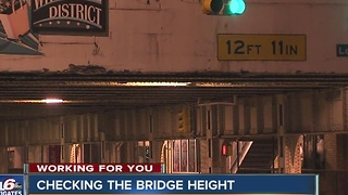 Call 6: Checking bridge heights around Indianapolis - Video